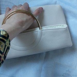 i-CHI handbag golden handle light pink